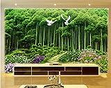 Individualidad de la Moda Decorativo de Seda Gasa Wallpaper Mural Fondo de Pantalla del Parque césped césped 3D Paisaje de Fondo Mural-450x300cm