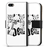 Apple iPhone 5s Tasche Leder Flip Case Hülle Cro Merchandise Fanartikel Polacroid