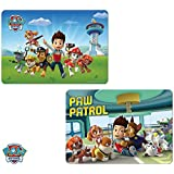 Kids Table Mat Place Mat With 3D Paw Patrol Designs (Set of 2)