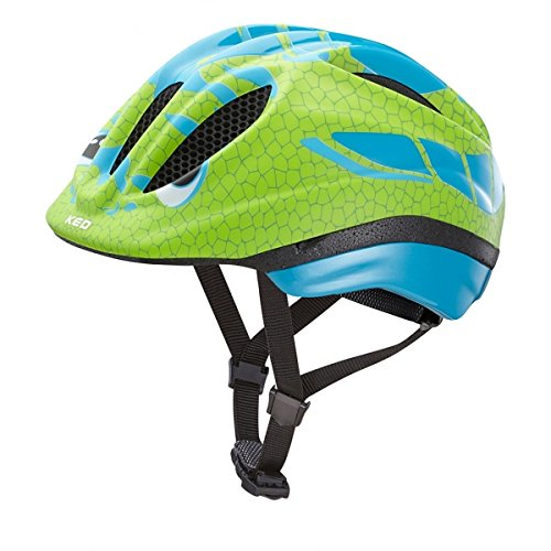 KED Meggy Trend Helmet Kids Dino Lightblue Green Kopfumfang 44-49 cm 2017 mountainbike helm downhill