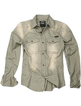 Brandit Hardee Camicia grigio L