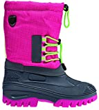 CMP Campagnolo Ahto WP Snow Boots Kids Pink Fluo Schuhgröße 25 2017 Stiefel