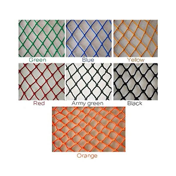 Freight Net,Playground Rope Net, Stair Children Protection Netting Balcony Cats Safety Nets, Cargo Rope Ladder Truck Trailer Netting White Nylon Net Banister Protection Fence Playground Decoration Mes SFMND ▲Multi-use Protection Net:Family balcony and railing balcony stairs safety net banister stair anti-cat climbing, anti-high fall and other intensive protection; Wall ,home, theme party hotel, guesthouse, cafe, bookshop, restaurant, decoration,hanging ect. ▲Characteristics of Decoration Net: Soft material, light mesh, multi-layer warp and weft, precise wiring, workmanship; high temperature sunscreen, waterproof; clear lines, anti-slip endurance and anti-wear. ▲Ceiling net, decorative net, shed partition net, photo wall, hanging net, stair safety net and protective net. 7