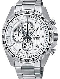 Seiko Reloj Cronógrafo para Hombre de Cuarzo con Correa en Acero Inoxidable SSB317P1