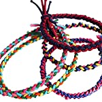 Haodou 5PCS Colorful Braided Elastic Hair Ties Bobbles Bow Rhinestone Ponytail Holders Rubber Bands Stretchy Hair Ropes Hair Bands Hair Accessories for Women Girls Kids Men