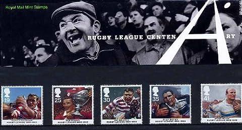 Football Centenaire 1995 Rugby League forme de présentation-Lot N °