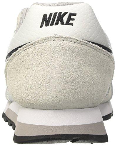 Nike Wmns MD Runner 2, Scarpe da Ginnastica Donna Bianco (White/Black/Wolf Grey 100)