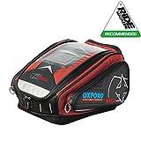 Oxford X30 QR Schnellspanner Motorrad Tankrucksack für Motorrad - 30 litres - rot