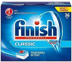 Finish Classic Paquet de 36 tablettes pour lave-vaisselle