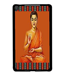PrintDhaba Holy Image D-4233 Back Case Cover for ASUS GOOGLE NEXUS 7 2013 (Multi-Coloured)