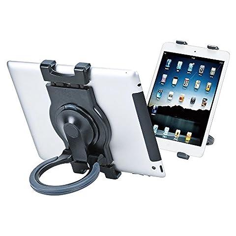 CoolPlay support de tablette–360rotatif léger support Portable pour tablettes 7–25,4cm iPad, Kindle, liseuses, smartphones et plus (Noir)