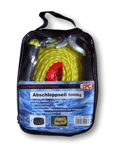 CG Car Professional 570307/96096  Abschleppseil, 5000 kg, Sortiert