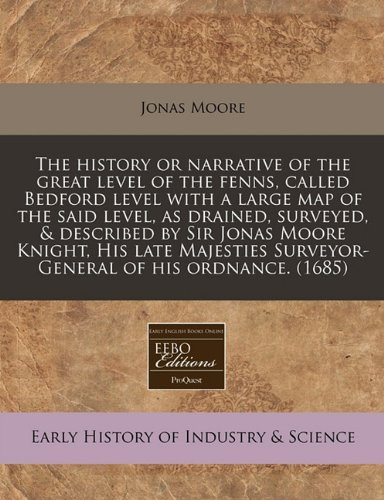 The history or narrative of the great level of the for sale  Delivered anywhere in UK