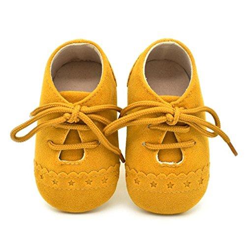 Baby Kleinkind Gelb Schuhe Sohle Rutschfest Bzline® Sneaker Weiche Schnürschuhe PqAcw4
