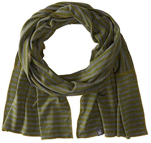 Ibex Outdoor Bekleidung Herren Schal gleich, II, unisex Herren, Green Night Stripe (Stripe Wolle Merino Schal)