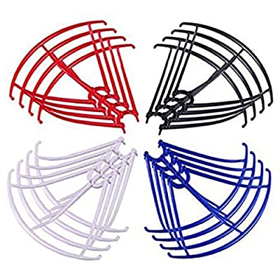 TOOGOO(R) For X5HC/X5HW 16PCS Blades Frame Guard Propeller Protectors Spare Parts for RC Quadcopter Drone