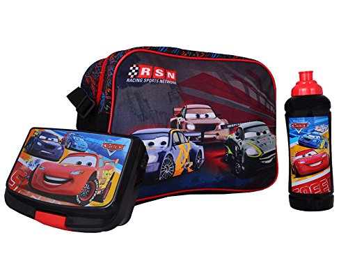 Auto Set Lunch Box, Bottiglia e borse a spalla - Auto Lunch Box