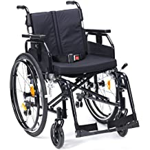 Drive Medical SD2SP20BLK Enigma Super Delux - Silla de ruedas autopropulsada (50,8 cm)