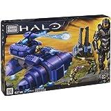 Mega Bloks 97014 Halo - Juego de construcción de Covenant Wraith (incluye 3 figuras de acción)