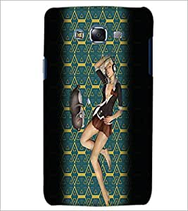 PrintDhaba Music Girl D-2939 Back Case Cover for SAMSUNG GALAXY ON 7 (Multi-Coloured)