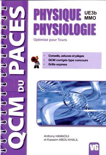 Physique physiologie : UE3b-MMO, optimisé pour Tours