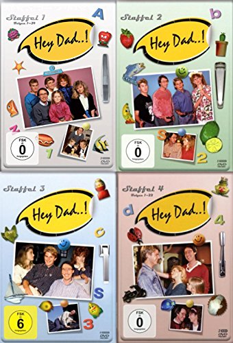 Staffel 1-4 (19 DVDs)