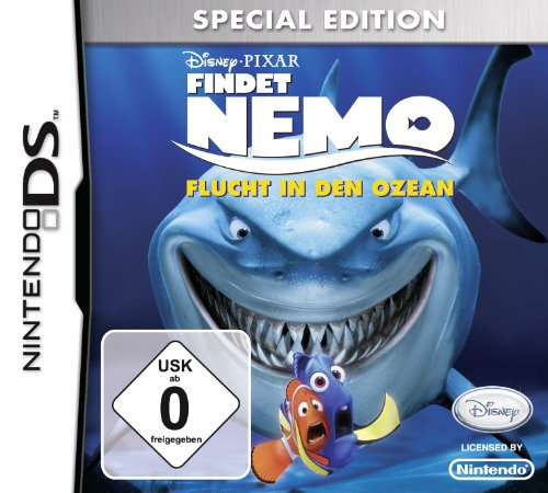 Findet Nemo - Flucht in den Ozean (Special Edition) - [Nintendo DS] (Ds Limited Edition)