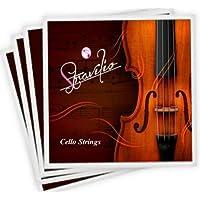 Conjunto completo de Calidad Cadenas tamaño Violonchelo 4/4 y 3/4 Cello cuerdas, A D G C