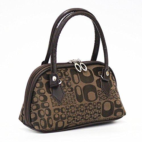 nuovo Mini Ms. Minigrip sacchetti in vecchio pacchetto MOM pack acquistando una confezione per alimenti telefono parti del pacchetto a portafoglio borse donna lunga19cm alto12cm fondo8.11cm Darkkhaki o lettere