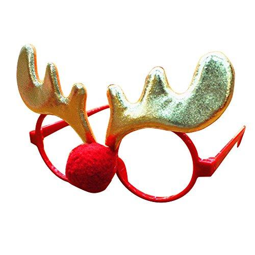 bobo4818 Kreative Gläser, Weihnachtsfeier Requisiten Dress Up Schöne Gläser Nehmen Foto...