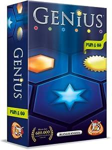 White Goblin Games Genius: Fun & Go Party Board Game Niños y Adultos - Juego de Tablero (Party Board Game, Niños y Adultos, 20 min, 8 año(s), Holandés, Caja)
