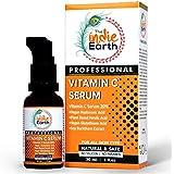 The Indie Earth Vitamin C Serum with Turmeric, Vitamin E, Vegan Hyaluronic Acid, Ferulic Acid and Vegan Glutathione Acid Serum (30 ml) Best Vitamin C Serum Best Fairness Serum
