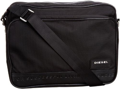 Diesel - Borsa X01311PS711T8013 Uomo, Nero (Schwarz