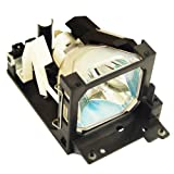 Alda PQ Original, Projector Lamp for HUSTEM MVP-G20 Projectors, branded lamp with PRO-G6s housing