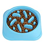 Slow Feed Dog Bowl, Clevero Durable Preventing Choking Dog Interactive Fun Feeder Bloat Stop Slow Eating Pet Bowl with… 7