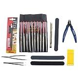 Gundam Modeler Basic Tools Werkzeuge Kraft HandwerkSet Für Auto Modell Bausatz DIY Reparatur Fix Kit