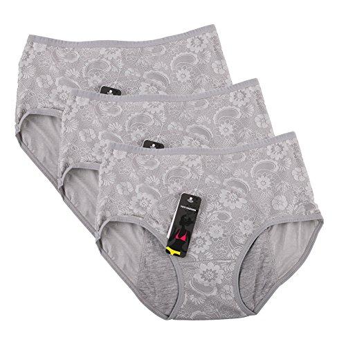 donne-periodo-mestruale-mutandine-jacquard-facile-pulire-le-mutandine-multi-pack-size-36-44-44-grigi