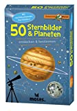Moses Expedition Natur - 50 Sternbilder und Planeten| Bestimmungskarten im Set | Mit spannenden Quizfragen