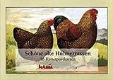 Schöne alte Hühnerrassen