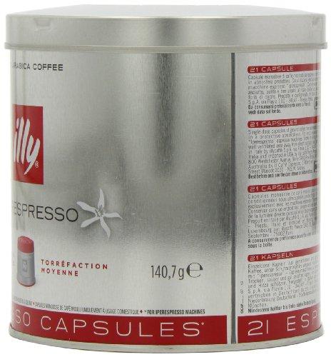 illy Iperespresso Classic Roast Coffee, 21 Capsules