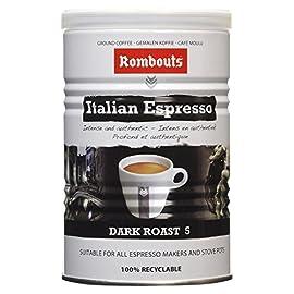 Rombouts Coffee Italian Style Ground Coffee Tin, 227g