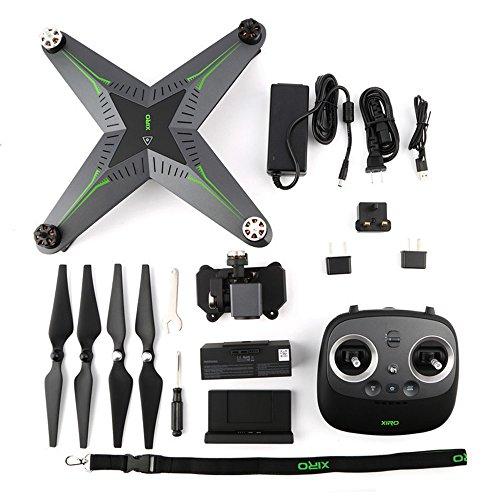 Preisvergleich Produktbild Xiro Xplorer Vision Drohne (Verfolgungsfunktion, Full HD Videos 1080p/30fps, 14 Mpx)