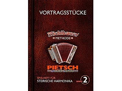Michlbauer Musikverlag, Spielheft für die Steirische Harmonika Band 2, Michlbauer Methode - Vortragsstücke