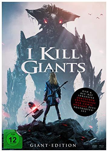 I Kill Giants (DIN A4 Sonderedition inkl. DVD, Blu-ray, Postkarten und Hardcover-Graphic Novel mit Variant Cover im Schuber) (Limitierte Edition) (exklusiv bei Amazon.de)