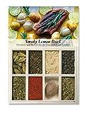 Smoky Lemon Duck – 8 Gewürze für die Entenbrust mit Limone (42g) – in einem schönen Holzkästchen – mit Rezept und Einkaufsliste – Geschenkidee für Männer und Feinschmecker – von Feuer & Glas
