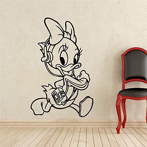 daufkleber Schlafzimmer Donald Ducks Nichte Kostüm Kids Name Baby für Kinderzimmer ()
