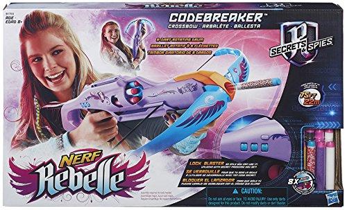 Nerf Rebelle - Lock Out Crossbow Blaster