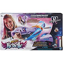 Rebelle - Ballesta lanzadardos Codebreaker Crossbow Nerf (Hasbro B1703EU4)