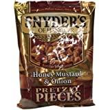 Snyder's Honey Mustard and Onion Pretzel pieces 125g
