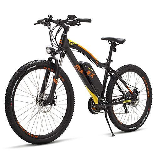 51JpBCjWRJL. SS500  - MERRYHE Electric Road Bicycle 7 Speeds Beach Snow E-Bike 250W 48V Removable Li-Battery Aluminum Alloy 27.5 Inch Mountain Bikes Cruiser Citybike